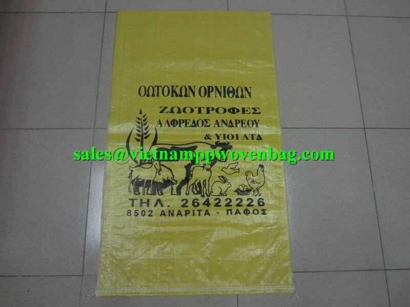 pp bags for packing Animal Feed