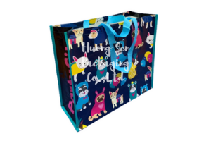 Pp Woven Laminated Shopping Bags