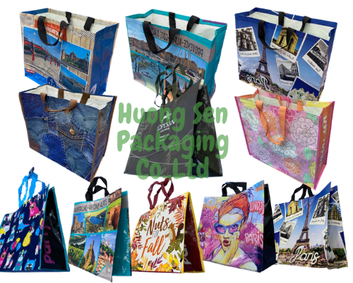 Vietnam Pp Woven Laminated Shopping Bags Exporter